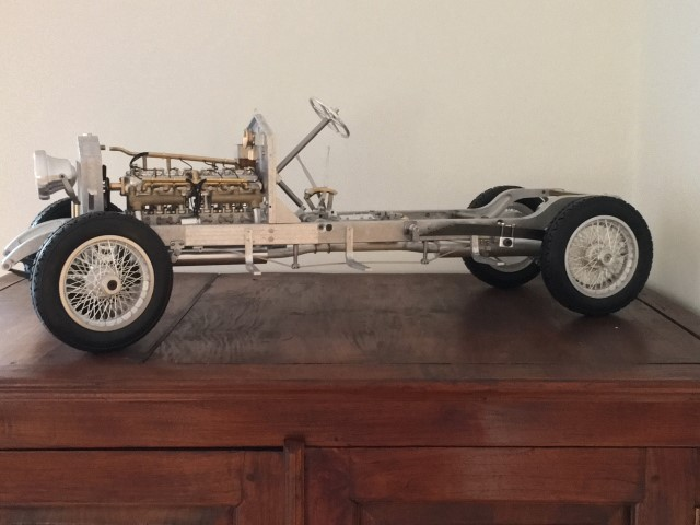 Silver Ghost Chassis And Engine Armortek