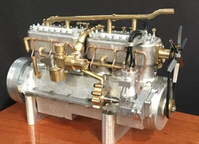 1914 Silver Ghost Engine 40 50hp Kit 1 6 Scale All