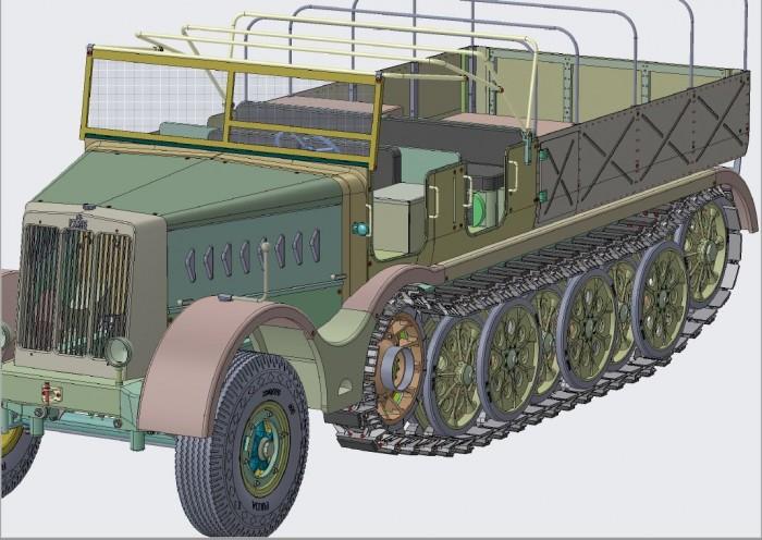 FAMO (sd kfz 9) STAGE X4.7 DESIGN