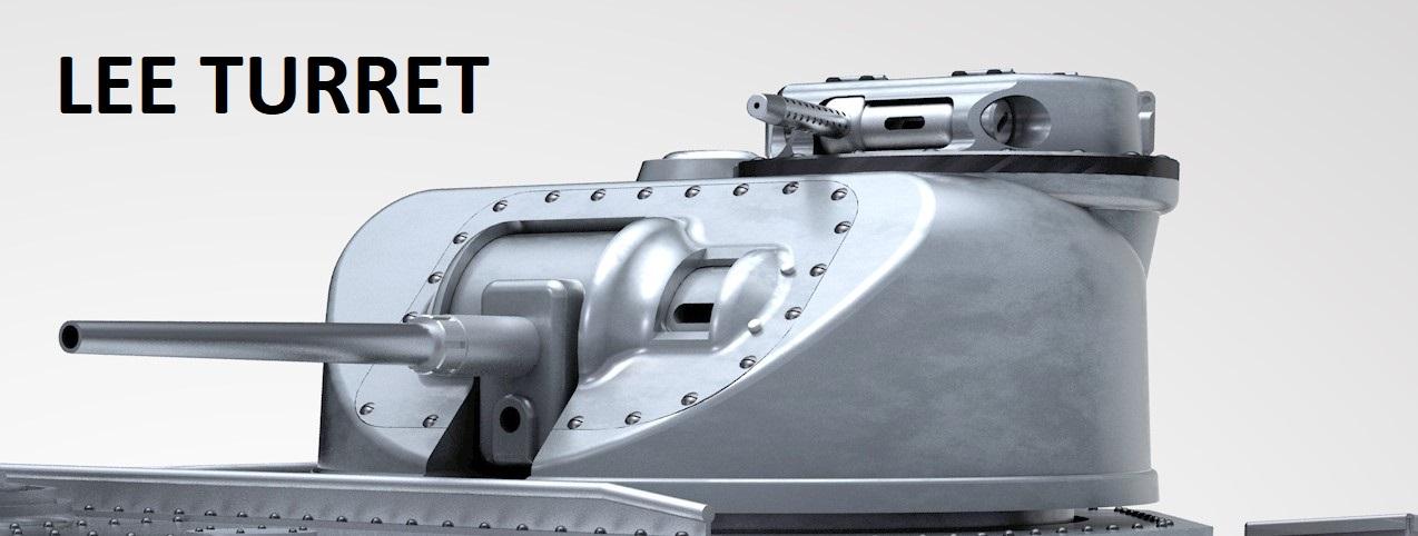 Armortek 1:6 M3 Lee/Grant Medium Tank