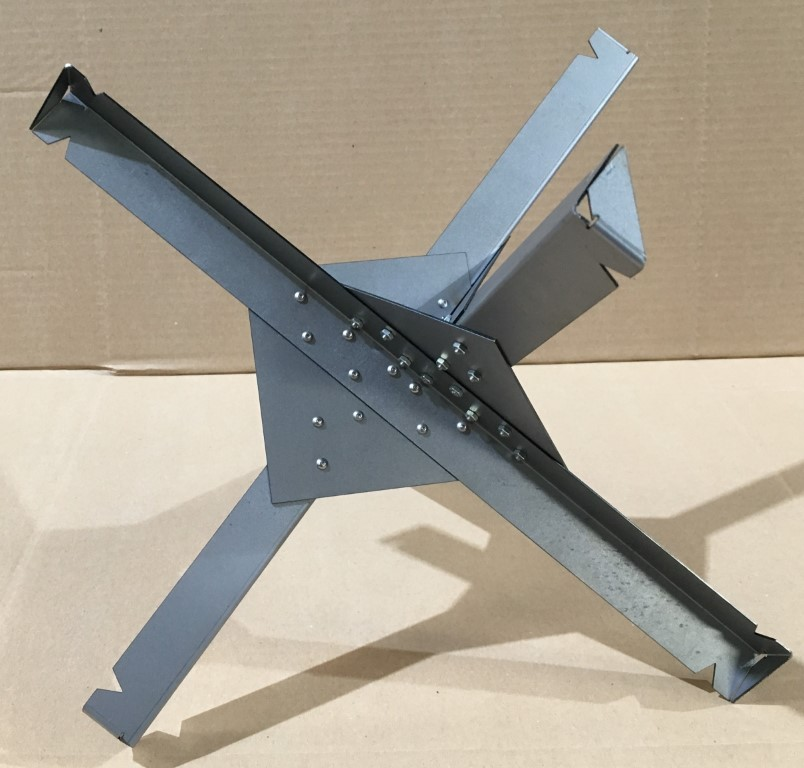 Czech Hedgegog - metal 1:6 scale - Armortek